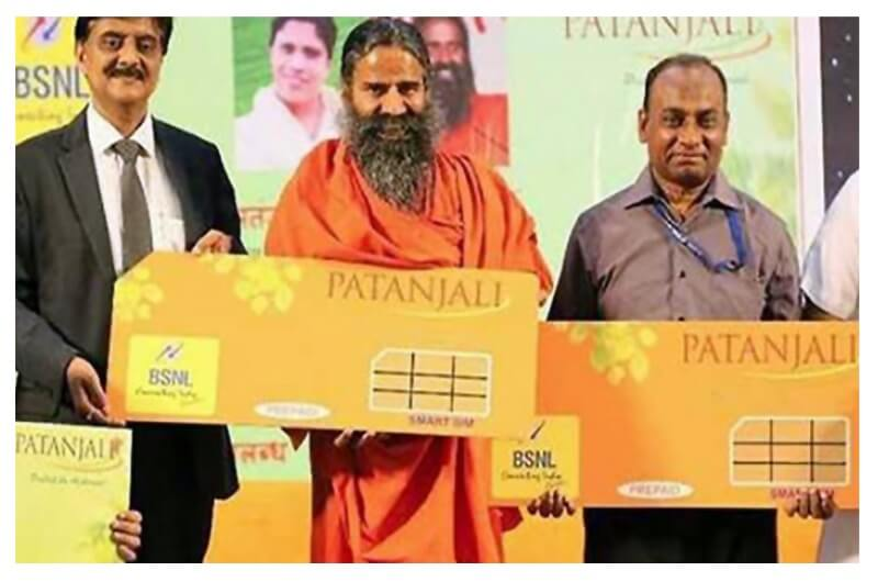 Patanjali launch SIM with BSNL